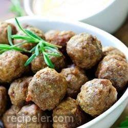 Southwestern Mini Turkey Meatballs