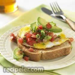 Southwestern Whole Grain Egg Sandwich