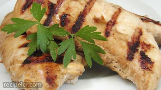 Soy And Garlic Marinated Chicken