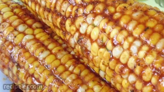 Soy-Glazed Corn on the Cob