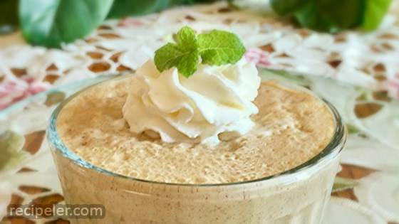 Soy Horchata Pudding