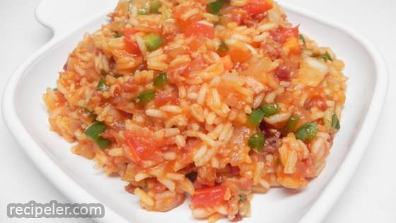 Spanish Rice (Microwave)