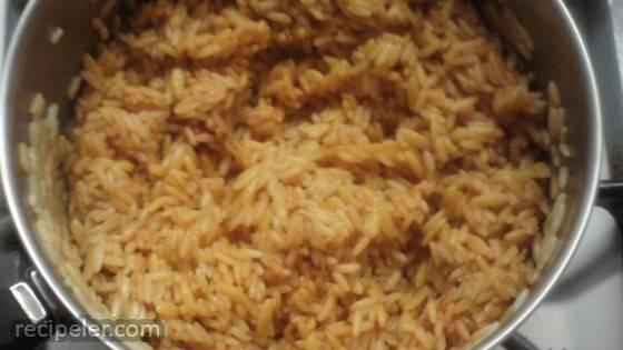 Spanish Rice Pilaf
