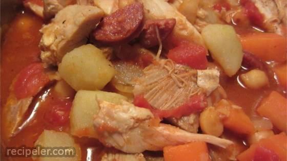 Spanish-Style Chicken Stew