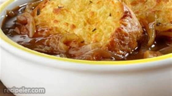 Speedy French Onion Soup