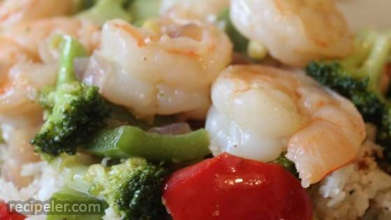 Spence's Secret Thai Red Shrimp Curry