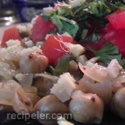 Spiced Chickpeas (Chole)