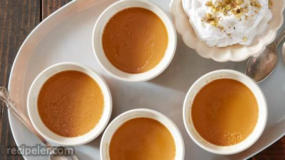 Spiced Orange Caramel Custard