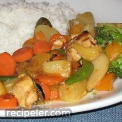Spicy Apricot Chicken Stir-Fry