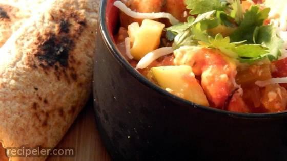Spicy Cajun Chicken Stew