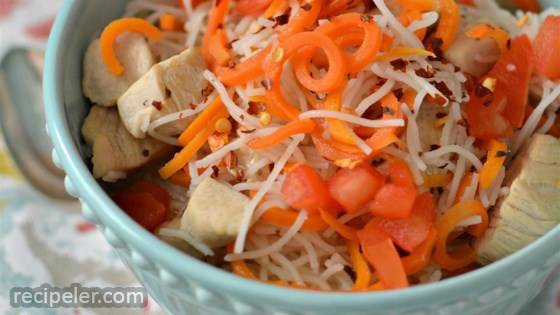 Spicy Chicken Noodle Soup