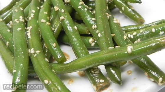 Spicy Chinese Mustard Green Beans