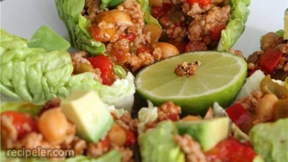 Spicy Chipotle Lettuce Wraps