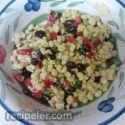 Spicy Corn and Black Bean Salad