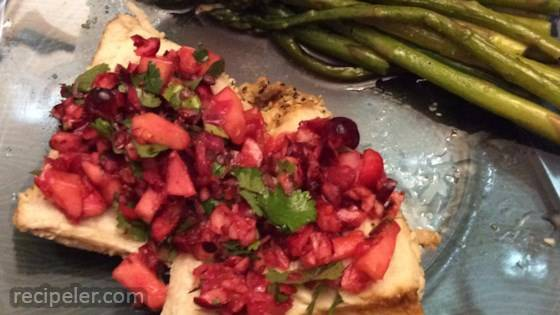 Spicy Cranberry Salsa