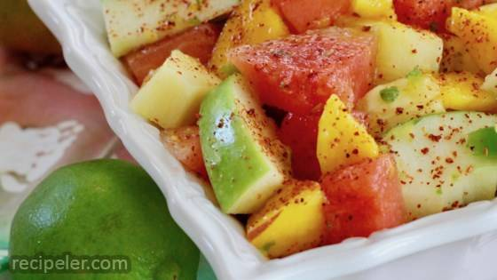 Spicy Fruit Salad