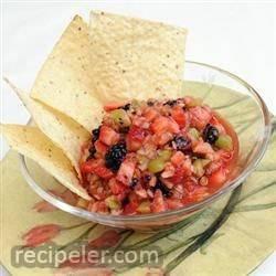 Spicy Fruit Salsa