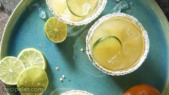 Spicy Mezcal Margarita