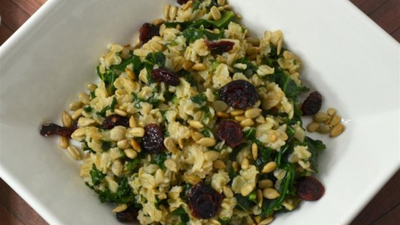 Spicy Oatmeal And Kale
