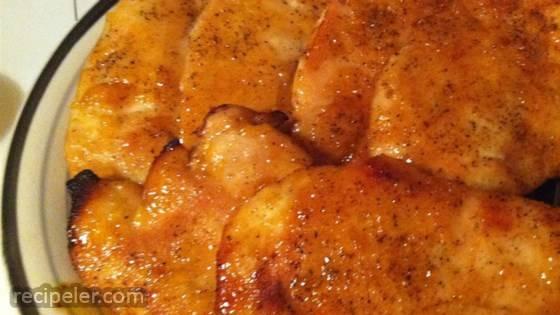 Spicy Peach Chicken