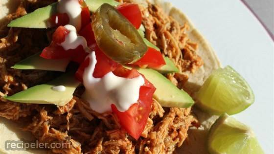 Spicy Shredded Chicken Tinga