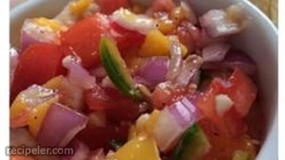 Spicy Sweet Salsa