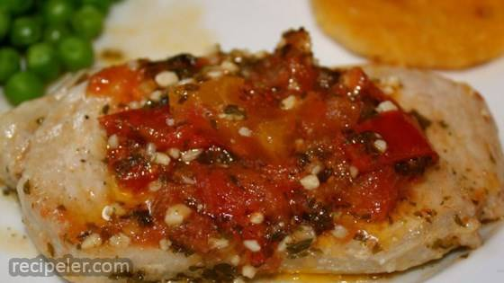Spicy Talian Pork Cutlets