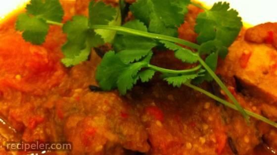 Spicy Tomato Chicken (Ayam Masak Merah)
