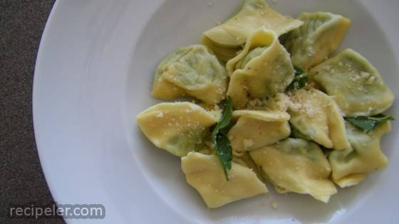 Spinach and Ricotta Tortellini