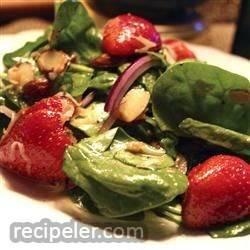 Spinach and Strawberry Daiquiri Salad