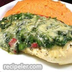 Spinach Chicken Parmesan