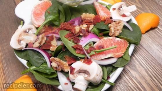 Spinach Orange Salad