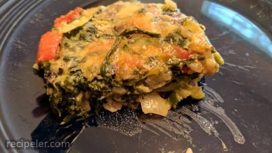 spinach veggie casserole