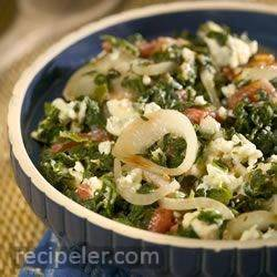 spinach with a twist