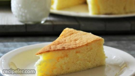 Spongy Japanese Cheesecake