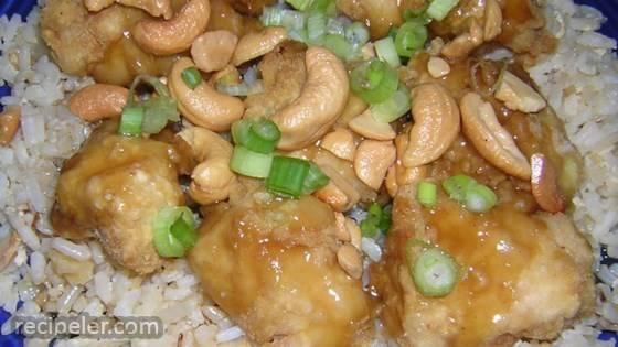 Springfield Style Cashew Chicken