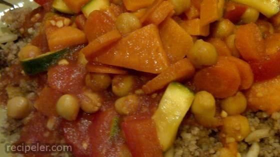 sraeli Moroccan Couscous