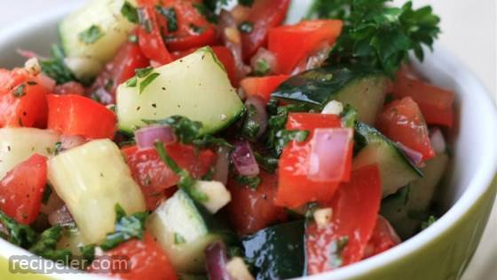 sraeli Tomato and Cucumber Salad