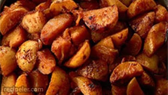 Steakhouse Garlic Butter Potato, Pan Grill