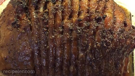 Steve's Maple-Glazed Spiral Ham Recipe