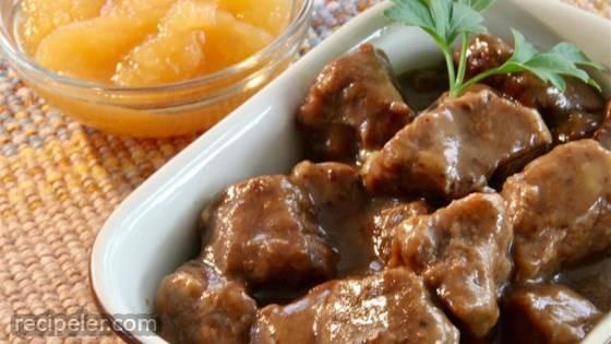 Stew Beef Sauerbraten