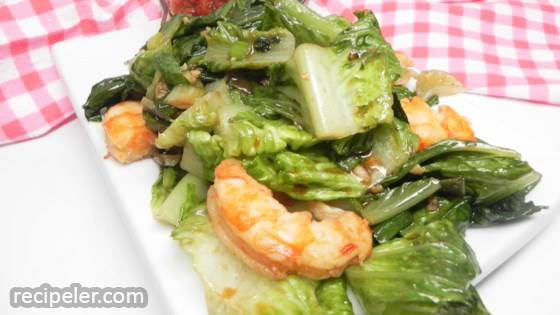 Stir-fried Lettuce With Garlic