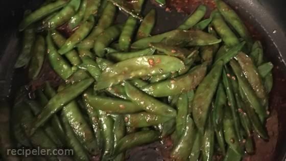 Stir Fried Sugar Snap Peas