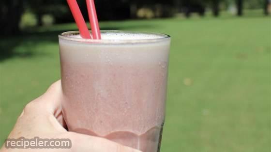 Strawberry Banana High-Protein Shake