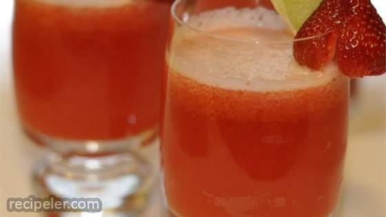 Strawberry Beer Margaritas