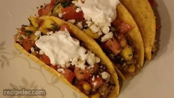 Street Taco with Mango Salsa