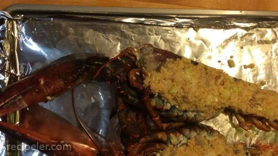 Stuffed Lobster for Two