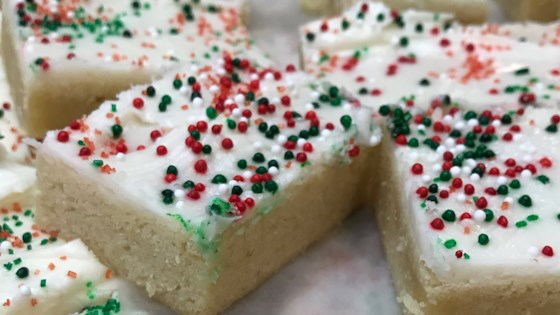 Sugar Cookie Bars Made Easy
