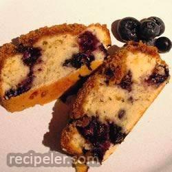 Sugar Free Blueberry Coffee Cake