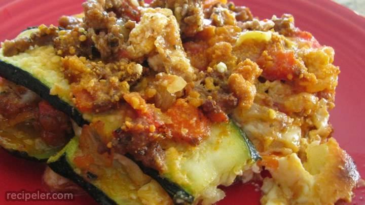 summer lasagna